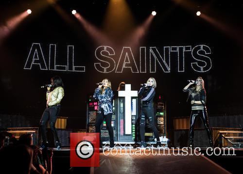 Natalie Appleton, Shaznay Lewis, Melanie Blatt, Nicole Appleton and All Saints 5