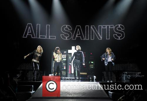 Natalie Appleton, Shaznay Lewis, Melanie Blatt, Nicole Appleton and All Saints 7