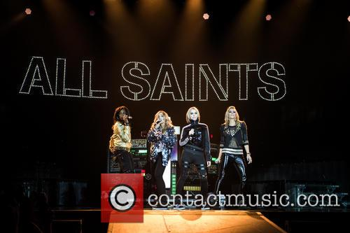 Natalie Appleton, Shaznay Lewis, Melanie Blatt, Nicole Appleton and All Saints 8