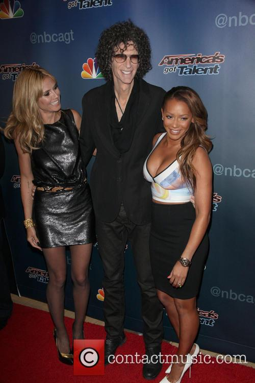Heidi Klum, Howard Stern and Mel B 8