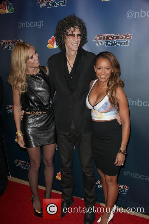 Heidi Klum, Howard Stern and Mel B 9