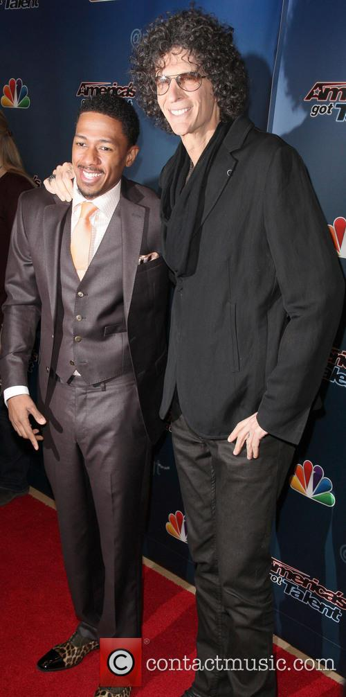 Nick Cannon and Howard Stern 6