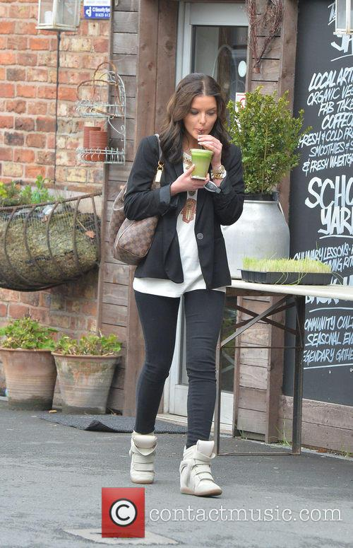 Helen Flanagan out and about in Alderley Edge