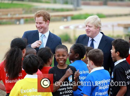 Prince Harry and Boris Johnson 7