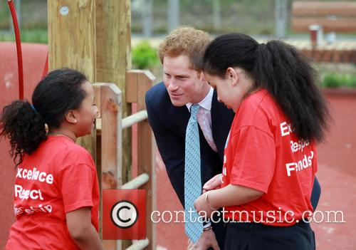 Prince Harry, Queen Elizabeth Olympic Park