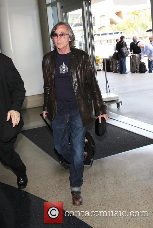 Jackson Browne at Los Angeles International (LAX) Airport
