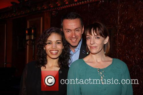 Ciara Renee, Andrew Lippa and Julia Murney