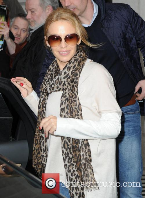 Kylie Minogue leaving BBC Radio 2