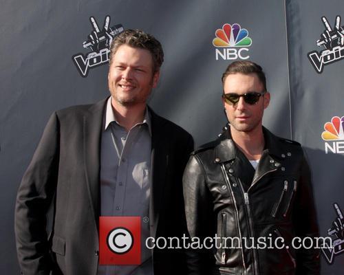 Blake Sheldon and Adam Levine 3