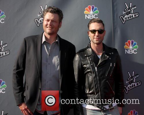 Blake Sheldon and Adam Levine 1