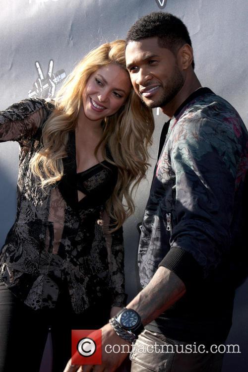 Shakira and Usher 2