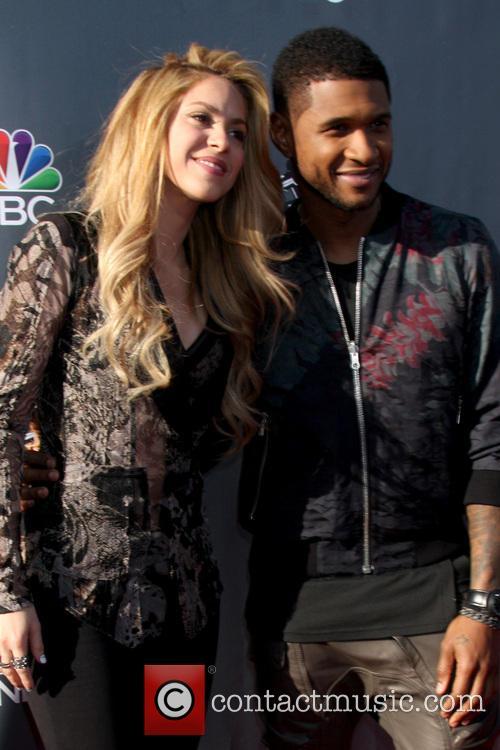 Shakira and Usher 5
