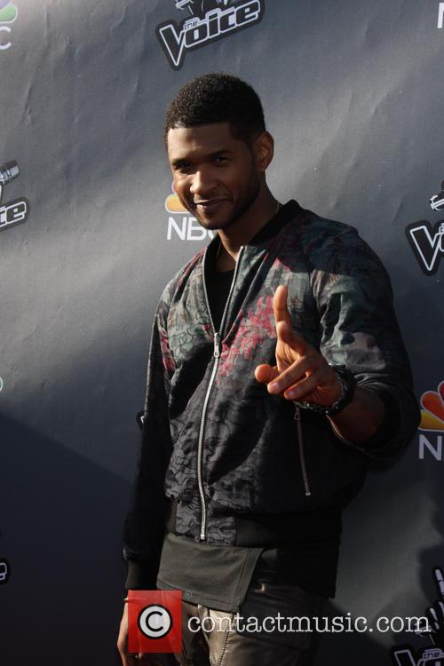 usher the voice usa coaches photocall 4139375