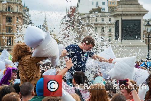 International Pillow Fight Day and London 6