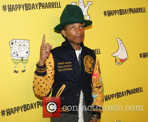 Pharrell Williams 41st Birthday Party