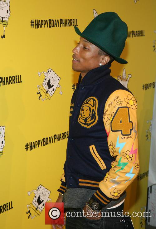 pharrell williams pharrell williams 41st birthday party 4140958