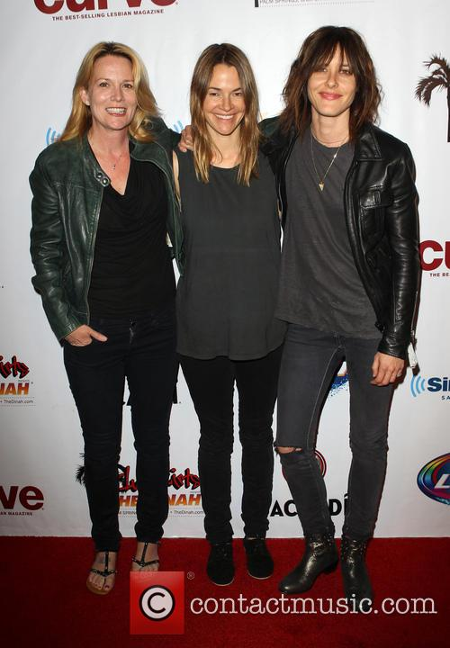Laurel Holloman, Leisha Hailey and Kate Moennig