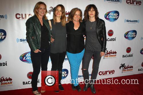 Laurel Holloman, Leisha Hailey, Mariah Hanson Founder Of Club Skirts and Kate Moennig 6