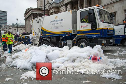 Westminster City Council and International Pillow Fight Day 3