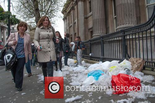 Westminster City Council and International Pillow Fight Day 9