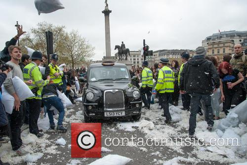 Londoners and Trafalgar Square 1