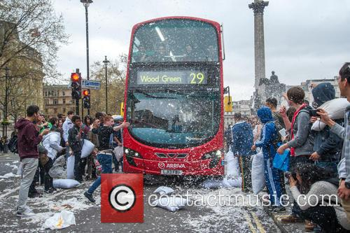 Londoners and Trafalgar Square 3