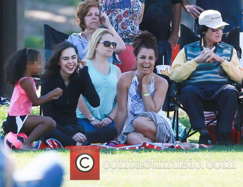 Britney Spears At Soccer Tournament