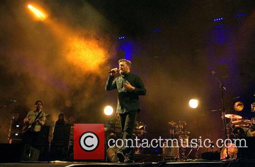 Elbow performing live in concert