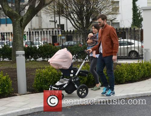 Amelia Warner, Jamie Dornan and Daughter 4