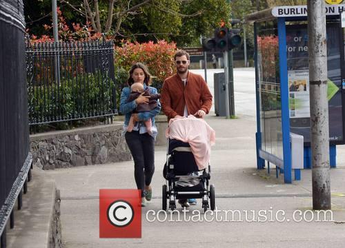 Amelia Warner, Jamie Dornan and Daughter 6