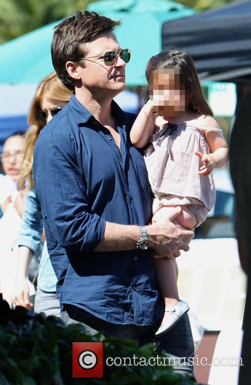 Jason Bateman and Maple Bateman 8