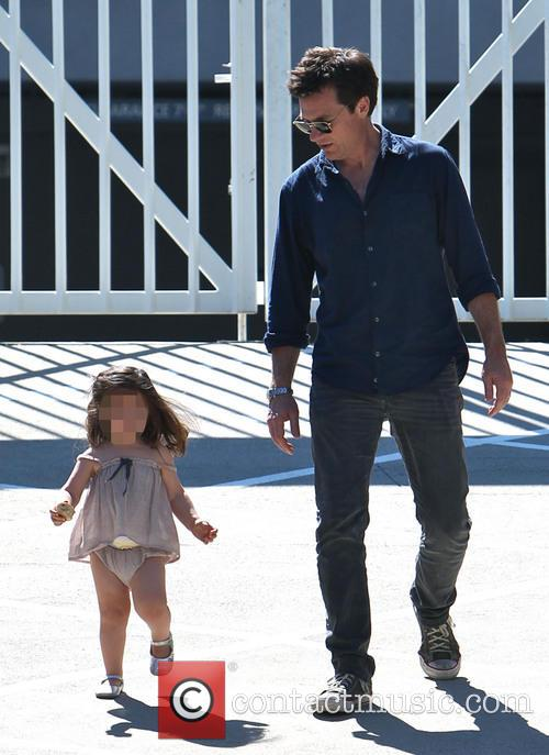 Jason Bateman and Maple Bateman 1