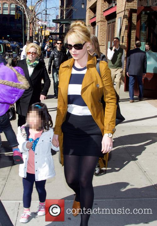Katherine Heigl Out And About With Family