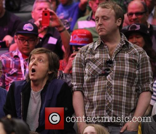 Paul McCartney, James McCartney, Staples Center
