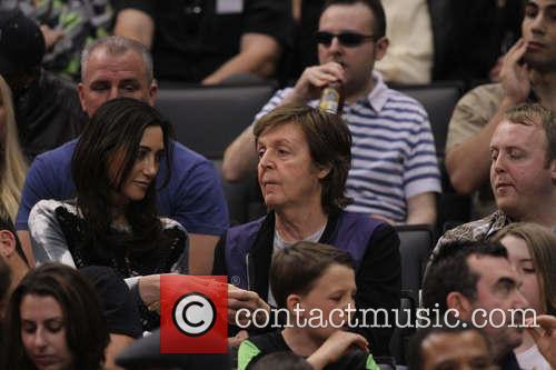 Paul Mccartney, Nancy Shevell and James Mccartney 7