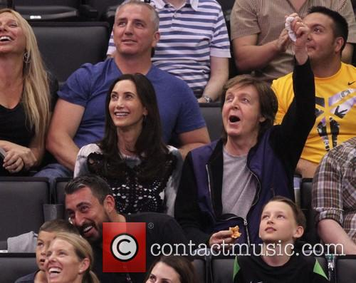 Paul McCartney and Nancy Shevell 14