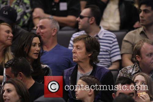 Paul McCartney, Nancy Shevell, Staples Center