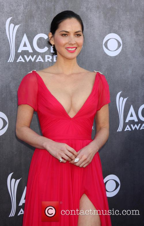 olivia munn 49th annual academy of country 4143571
