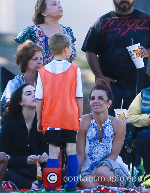 Britney Spears and Jayden James Federline 1