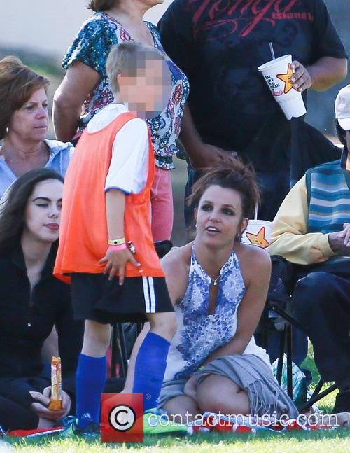 Britney Spears and Jayden James Federline 7
