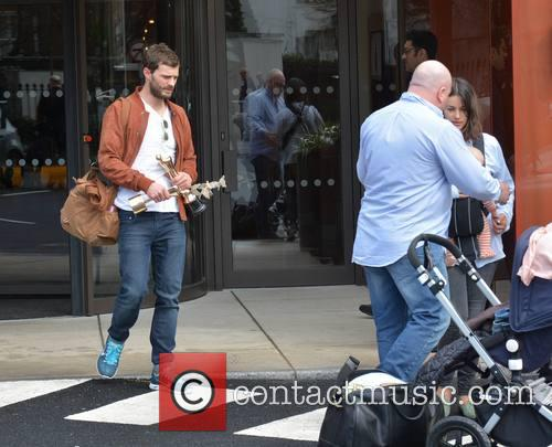 Jamie Dornan, Amelia Warner and Daughter 11