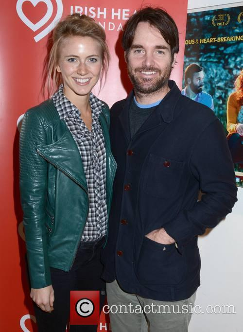 Silja Danielsen and Will Forte