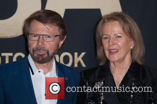 Björn Ulvaeus and Anni-frid Lyngstad