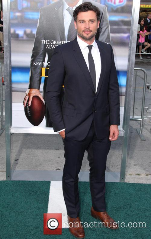 Tom Welling at 'Draft Day' premiere