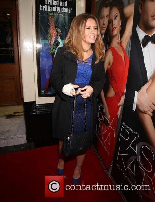 Pregnant Kimberley Walsh At The Lyric Theatre