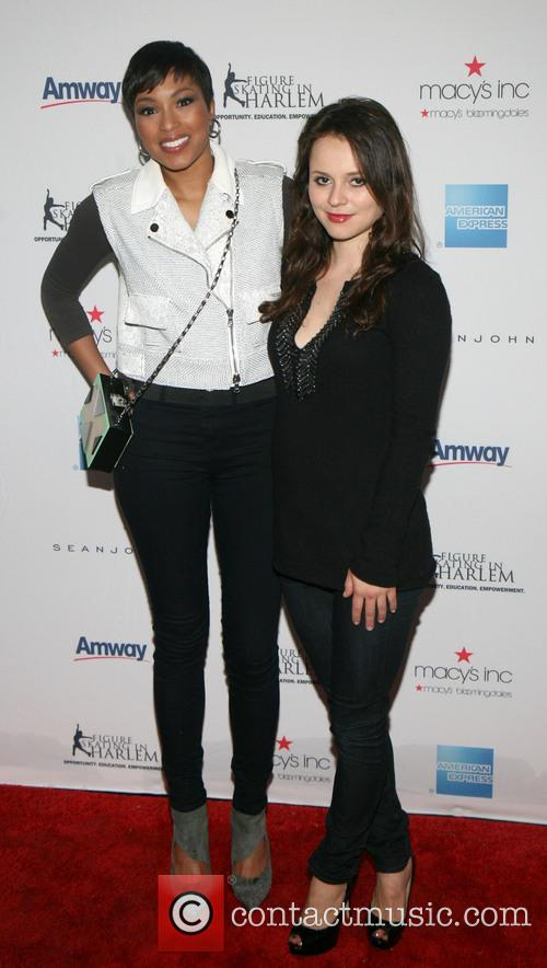 Alicia Quarles and Sasha Cohen 2