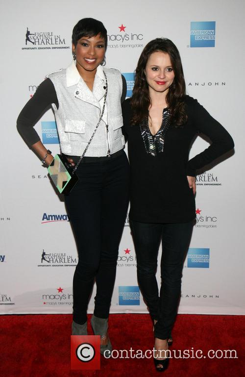 Alicia Quarles and Sasha Cohen 6
