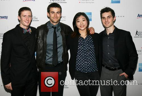 Jeremy Abbot, Ryan Bradly, Mirai Nagasu and Joshua Farris 2