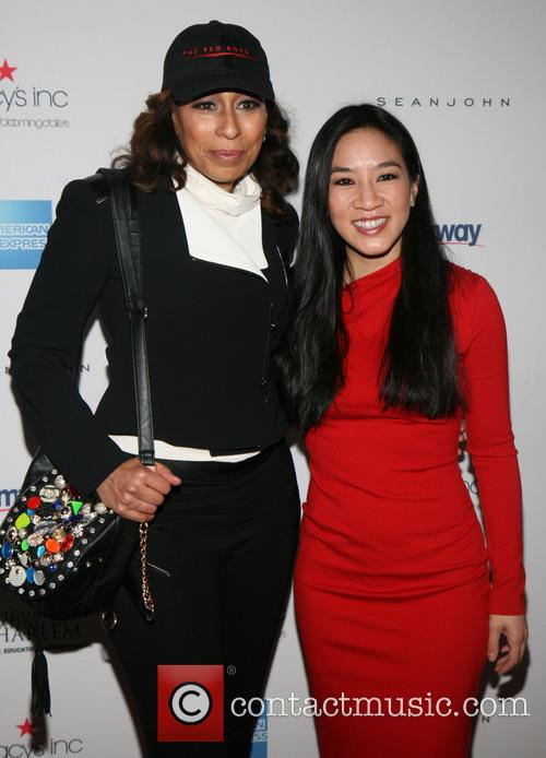 Tamara Tunie and Michelle Kwan 2