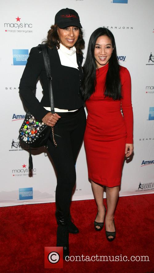 Tamara Tunie and Michelle Kwan 1